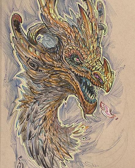ORIGINAL ~ Turmeric Spice  Dragon
