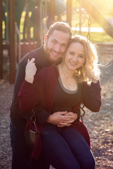 Ella & Christopher: Ewing Park Engagement