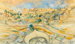 Jerusalem from Mount Zion Hotel