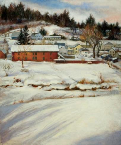 Winter in Johnston VT