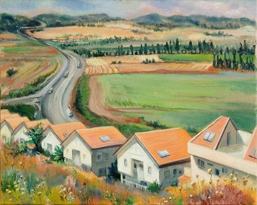Jezreal Valley (Ramat Yishay)