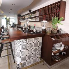 עיצוב מסעדת שקד בתל אביב