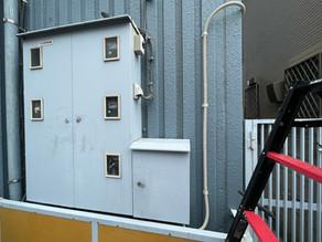 建物内の引っ越し作業に伴う通信機器工事をしました。(川崎市幸区)