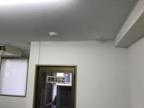 防犯システムと電気錠の工事を致しました。(東京都中央区日本橋)