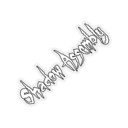 Shadow Assembly | Ghostcrawl Logo - Die-Cut Sticker