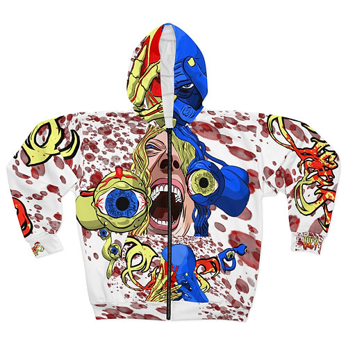 Ciraxis | They Live - AOP - White - Hoodie