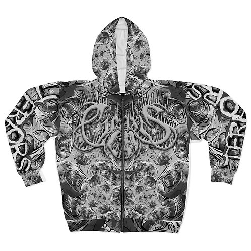 Ciraxis - Terrors | All Over Print Zip-Up Hoodie