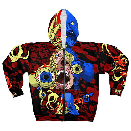 Ciraxis | They Live - All Over Print - Black - Hoodie