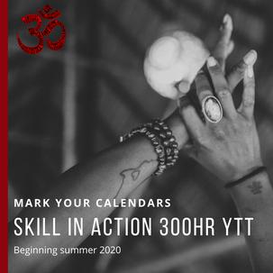 Skill in Action 300hr Yoga Teacher Training