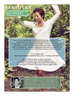Santosha Workshop with Diana Hulet