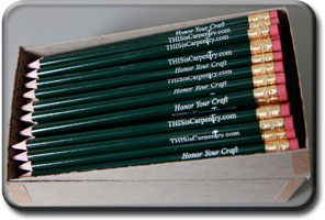 THISisCarpentry Pencils