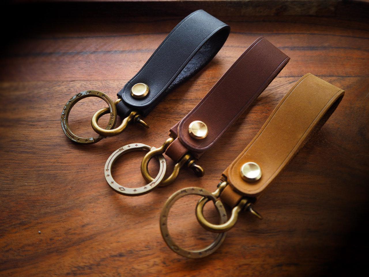 Key chain key ring cartridge upcycled quality  english leather