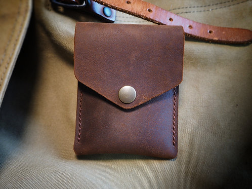 No.4 NZ Leather Pull Up Wallet