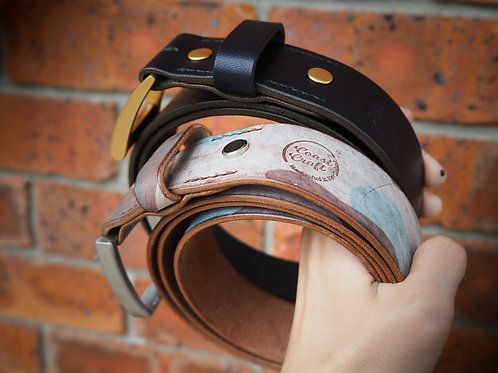 Coast Craft Leather Belt