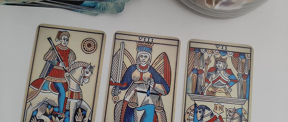 Tarot de Marseille Level 1