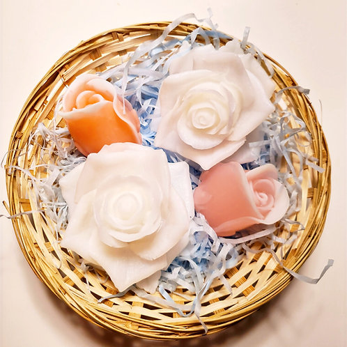 "Soap set ""4 roses"""