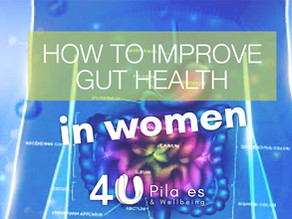 How to improve gut health in women