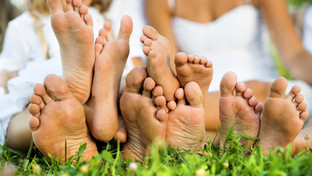 Fab Feet in February - get your feet moving.