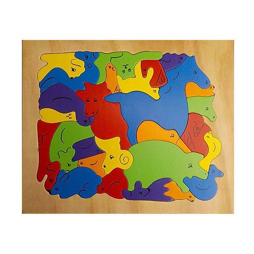 Farm Animal Puzzle