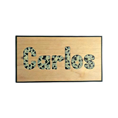 Camo Name Puzzle