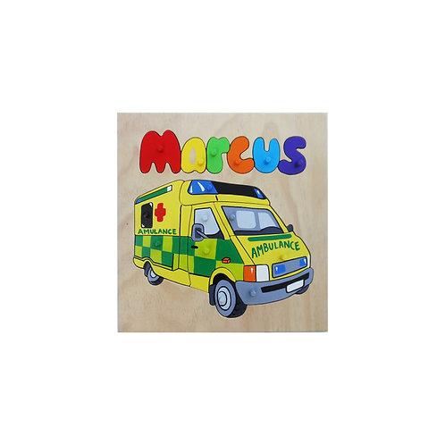Ambulance Name Puzzle
