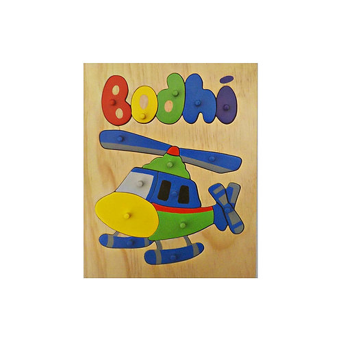 Helicopter Name Puzzle