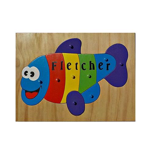 Fish Name Puzzle