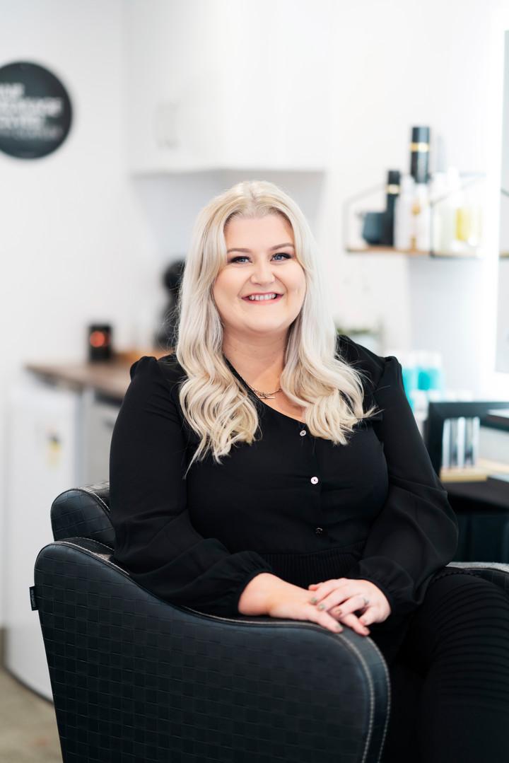 Nouveau Hair Branding Images