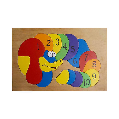 Snake Number Puzzle