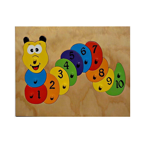 Catepillar Number Puzzle