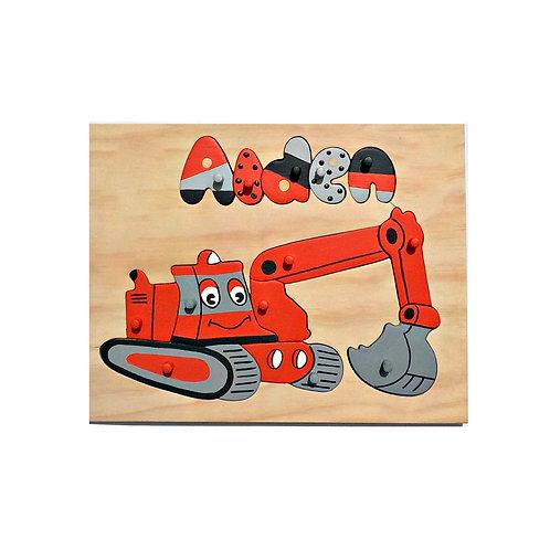 Digger Name Puzzle