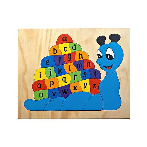 Snail Alphabet Puzzle
