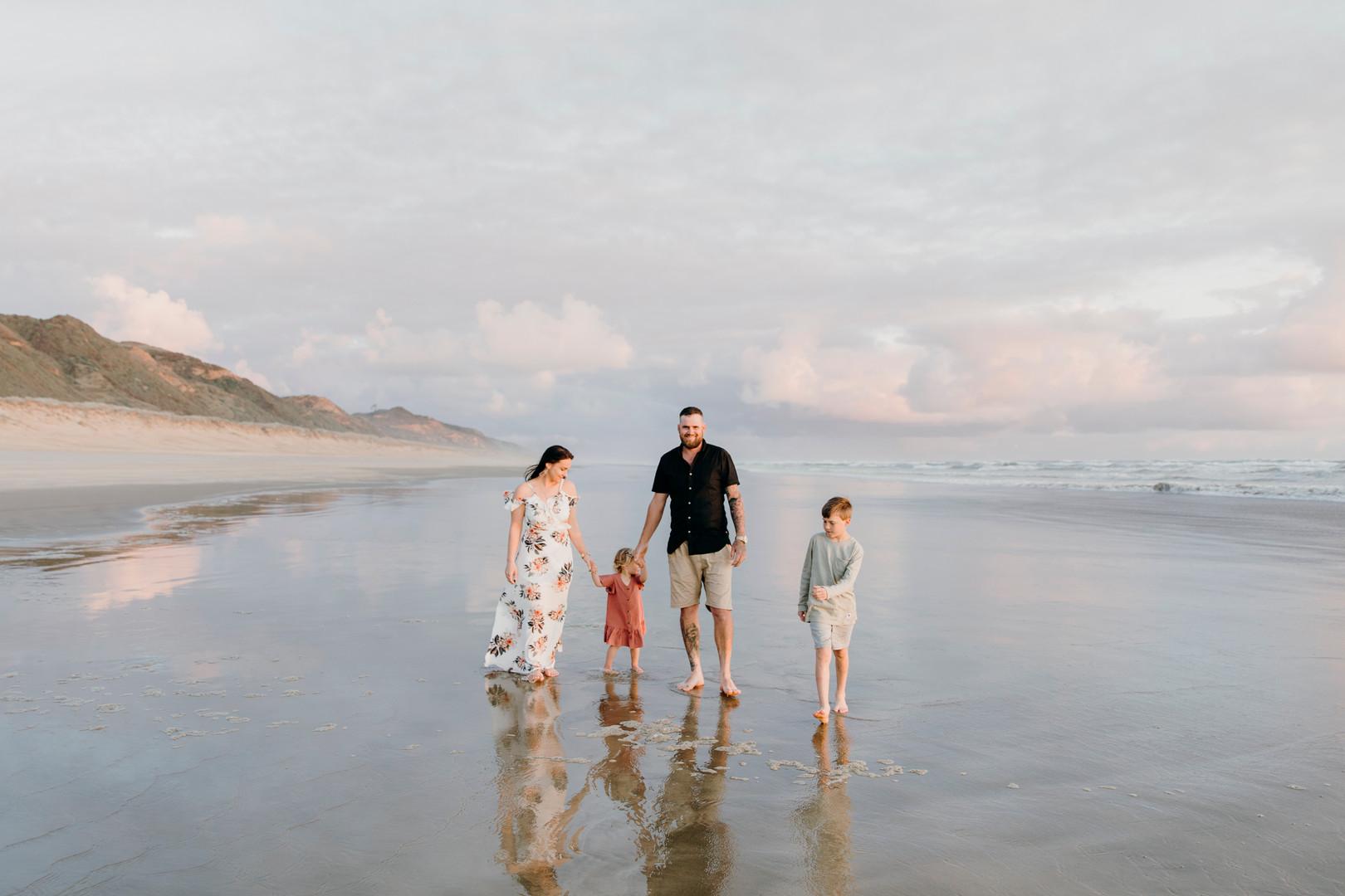 Hamilton Family Portrait Photographer | Haley Adele Photography