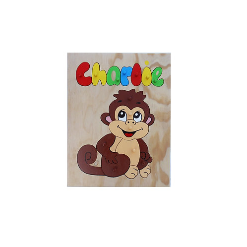 Monkey Name Puzzle