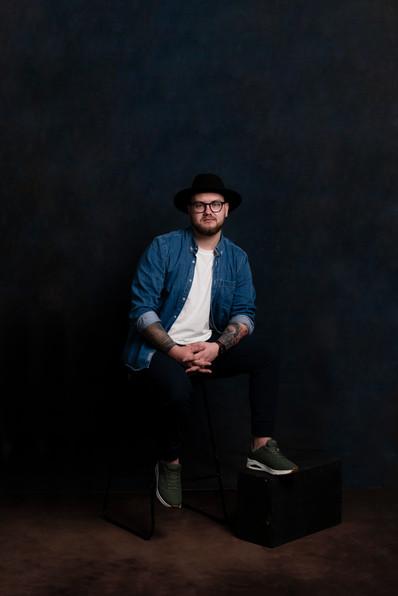 Mens Portrait Photographer | Waikato Portrait Studio