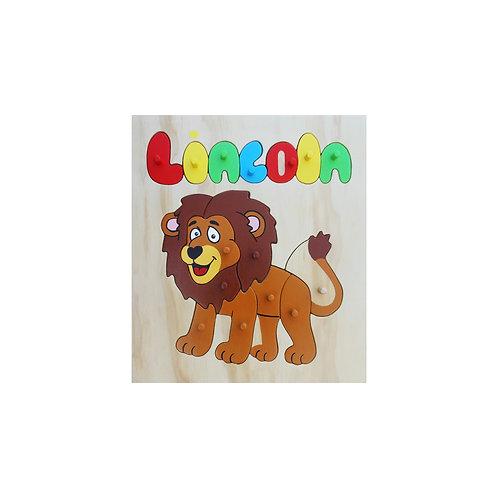 Lion Name Puzzle