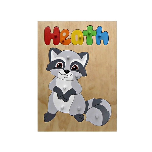 Racoon Name Puzzle