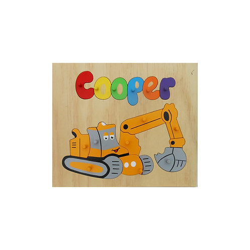 Digger Name Puzzle
