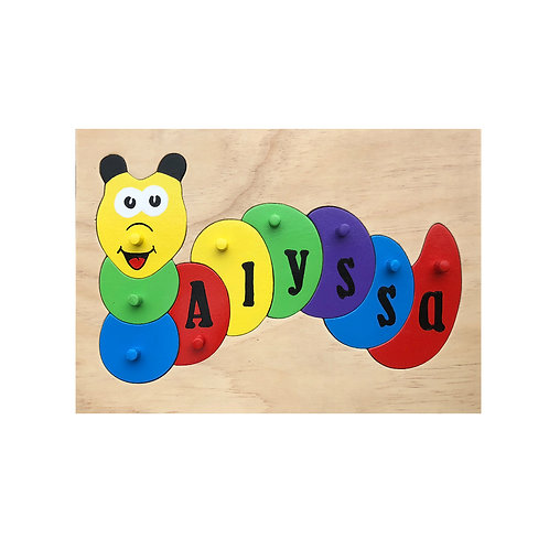 Caterpillar Name Puzzle