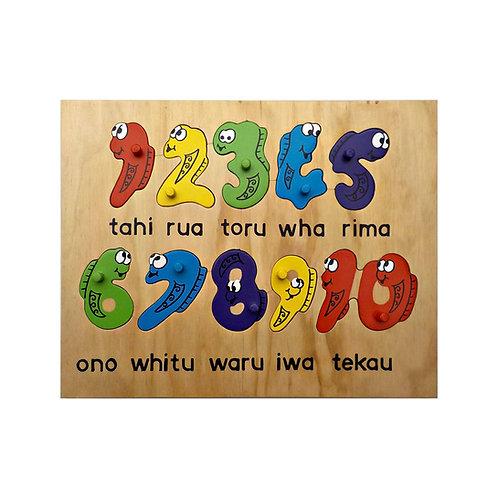 Te Reo Māori 1-10 Puzzle