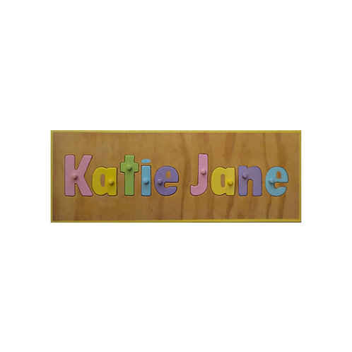 Pastel Name Puzzle