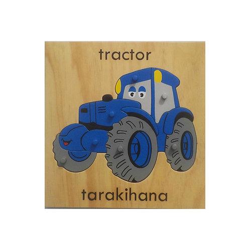 Te Reo Māori Tractor