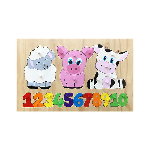 Farm Animals 1-10