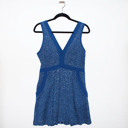 Free People Lovely in Lace Mini Dress Size Small