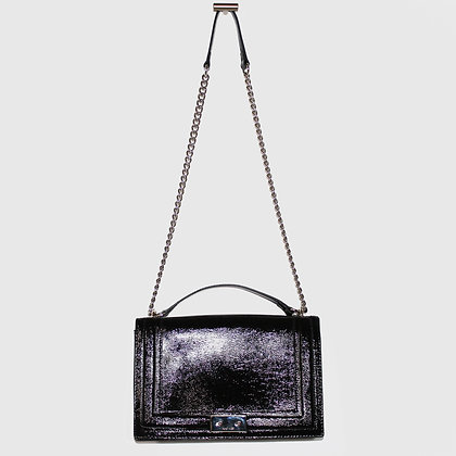 Purse with Silver Chain