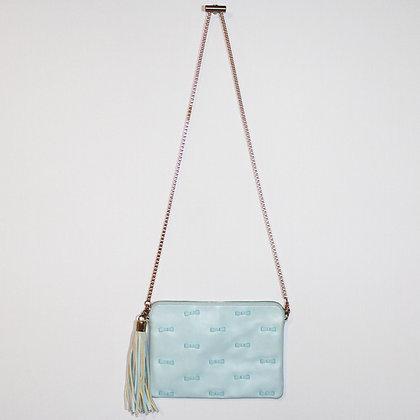 KOTON Baby Blue Bows and Gold Bag