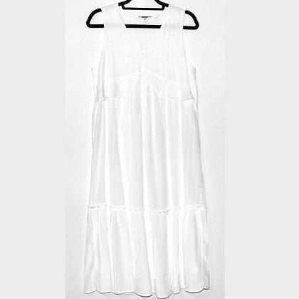 KOTON White Boho Midi Dress