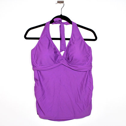 Athleta Purple Swim Tank Top Size 38DD