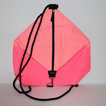 Victorias Secret Two Tone Neon Pink Backpack