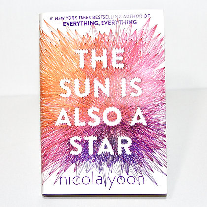Hardcover The Sun Is Also A Star Nicola Yoon Book